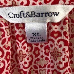 croft & barrow Tops - Croft & Barrow Blouse - XL